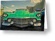 Cadillac Style  Greeting Card