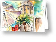Cadiz Spain 12 Greeting Card
