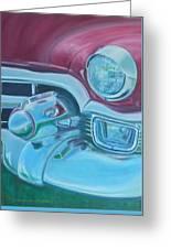 Cadzilla 1953 Cadillac Series 62 Convertible Greeting Card
