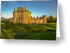 Caerlaverock Castle - 1 Greeting Card