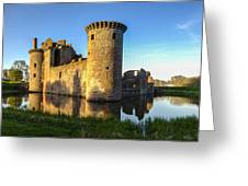 Caerlaverock Castle - 4 Greeting Card