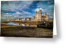 Caernarfon Castle Greeting Card