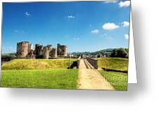 Caerphilly Castle 2 Greeting Card