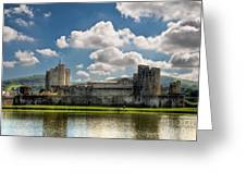 Caerphilly Castle 3 Greeting Card
