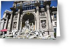 Caesars Palace Greeting Card