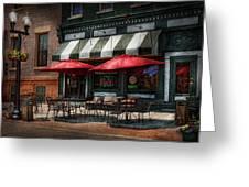 Cafe - Albany Ny - Mc Geary's Pub Greeting Card