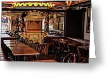 Cafe Chez Eugene - Montmartre Greeting Card