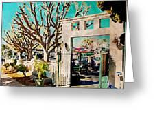 Cafe Diego Greeting Card