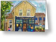 Cafes Greeting Card