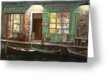 caffe Carlotta Greeting Card