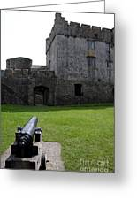 Cahir Castle Yard Greeting Card