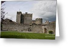 Cahir's Castle Second Courtyard Greeting Card