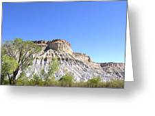 Caineville Mesa Caineville Utah Greeting Card