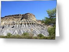 Caineville Mesa Utah Greeting Card