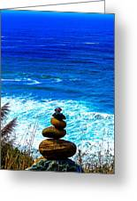 Cairn Creation Greeting Card
