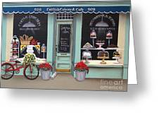 Caitlin's Cakery And Cafe Greeting Card