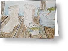 Cajun Style Greeting Card by Katie Spicuzza
