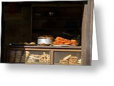 Cake Shop In Kathmandu Greeting Card