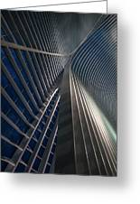 Calatrava Lines At The Blue Hour Greeting Card