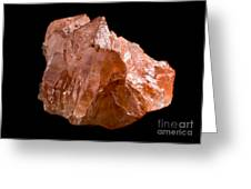 Calcite Crystal Greeting Card