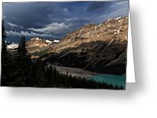 Caldron Peak  Greeting Card