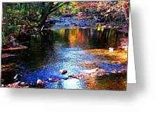 Caledonia In Autumn Greeting Card