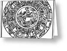 Calendar, 1503 Greeting Card