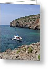 Cales Coves Greeting Card
