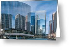 Calgary Glass Greeting Card