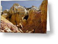 Calhan Paint Mines 1 Greeting Card
