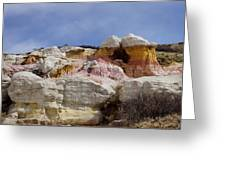 Calhan Paint Mines 2 Greeting Card