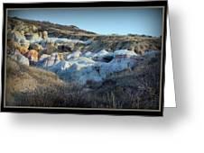 Calhan Paint Mines Landscape Greeting Card