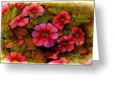 Calibrachoa Photoart I  Greeting Card