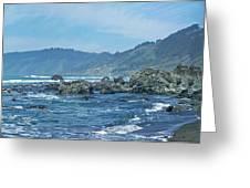 California Beaches 3 Greeting Card