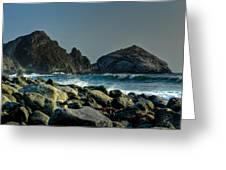 California - Big Sur 013 Greeting Card by Lance Vaughn