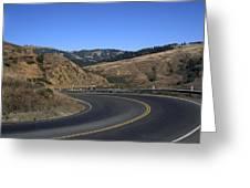 California Curve Greeting Card