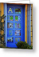 California Door Collection 3 Greeting Card