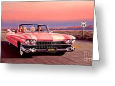 California Dreamin' Greeting Card by Michael Swanson
