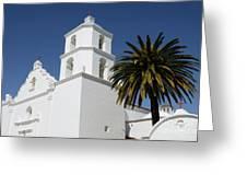 California Mission 2 Greeting Card