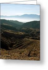 California Painted Canyon3 Greeting Card