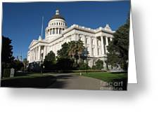 California State Capitol Greeting Card