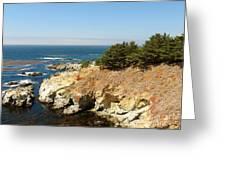 Californias Rocky Coastline Greeting Card