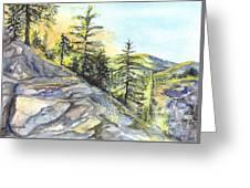 Californias Sierras Greeting Card