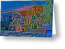 Calistoga Depot Greeting Card