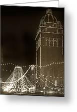 Call Building On Market Street San Francisco California 1902 Greeting Card