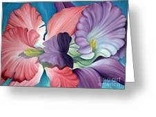 Call Of The Orchids Greeting Card