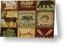 Call Of The Wilderness Greeting Card