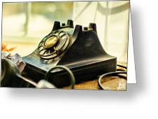 Call Waiting Greeting Card