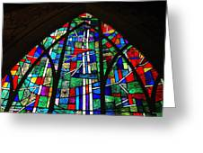 Callaway Gardens Chapel Stained Glass Greeting Card