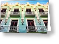 Calle Luna Greeting Card
